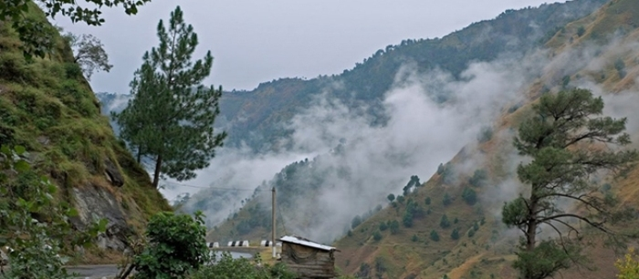 Kasauli Hill Station Valley View
